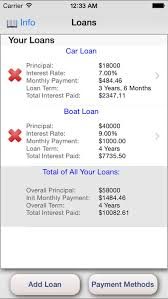 Boat Loan Calculator Icalc Loan Loan Calculator With Interest Payments And Snowball