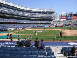 Tampa Yankees Stadium Seating Chart Yankee Stadium View From Legends 15b Vivid Seats