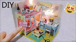 how to build miniature furniture. DIY Miniature Dollhouse With Full Furniture Sets\u0026Lights | Room Decor - YouTube How To Build W