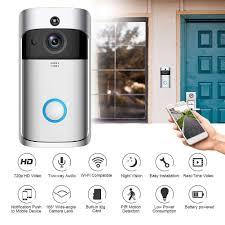 Chuông Cửa Camera Thông Minh không dây giám sát từ xa bằng điện thoại  smartphone - Chuông báo Thương hiệu OEM