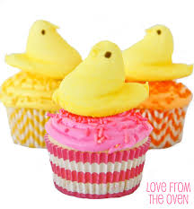 PEEPS Easter Cupcakes • Love From The Oven