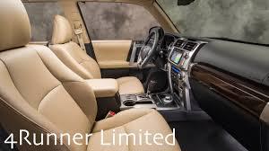 2018 toyota 4runner interior. 2018 toyota 4runner interior | trd off-road premium grades 4runner interior youtube