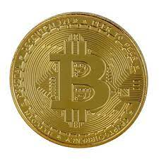 Bitcoin is described as a digital form of gold to explain its scarcity and potential as a store of value. Bitcoin Btc Metal Coin In Gold Real Gold Plated