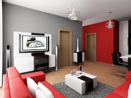 Red And Black Living Room Decorating Ideas Inspiring Well Decor Red Black  White Living Room Fashionable Nice