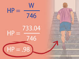 how to calculate horsepower