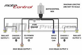 morimoto motocontrol 9004 9007 bi xenon wiring harness