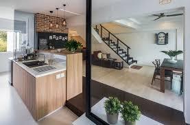 Hdb Em Interior Design Syrb Em Tampines Syrb Modern Cafe Interior Design