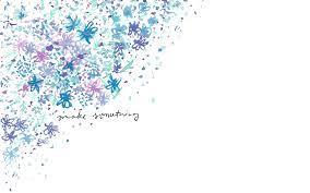 Blue lavender lilac watercolour mini ...