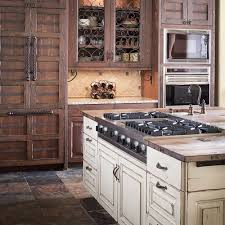 rustic white cabinets. Country Distressed White Kitchen Cabinets Rustic Bisita Guam