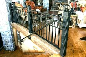 rustic outdoor stair railing ideas handrails for stairs hand rail and iron weave in decor staircase