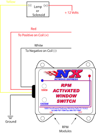 how to install an nx digital window switch on your 1986 1995 shifnoid rpm switch at Msd Rpm Activated Switch Wiring Diagram