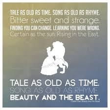 Beauty And The Beast Song Quotes Best of 24 Best Sweet Things