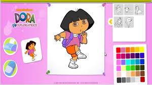 Dora L Xploratrice Coloriage En Ligne Dora Jeu En Fran Ais Hd