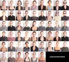 louis vuitton models without makeup what do you think