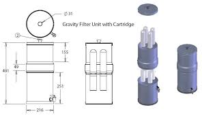 portable water filter diagram. Portable. Works To A Far Higher Standard Of Filtration Than Typical Jug Filter. It Has 2 Filter Cartridges Which Will Last For One Year. Portable Water Diagram