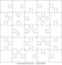 Printable Jigsaw Puzzle Maker Jigsaw Puzzle Template Word Document Digitalhustle Co