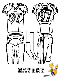 coloring page 01 at yescoloring afc uniform printables 02 enter for afc nfl uniform printables 01 at yescoloring this football