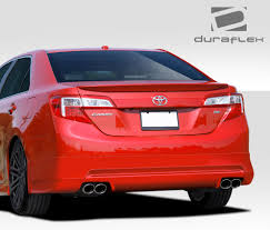Duraflex Racer Rear Bumper Lip Body Kit 1 Pc For Toyota Camry 12 ...