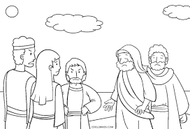 Come to our enchanted kingdom. Free Printable Bible Coloring Pages For Kids