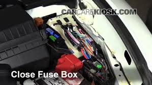 replace a fuse 2009 2014 nissan maxima 2010 Nissan Maxima Fuse Box Diagram F250 Fuse Box Diagram