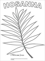 Coloring Pages Palm Sunday Palm Coloring Pages Palm Palm Coloring
