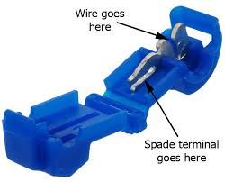 the problem with wire tap connectors bareass choppers motorcycle Lowes Scotchloc Wiring Harness t tap connectors