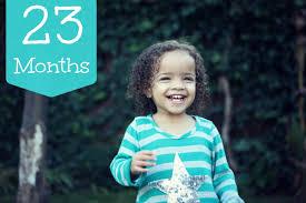 23 Months Milestones Chart 23 Months Old Toddler Child Development Milestones Stages