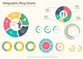 Circular Charts For Infographic Design Infographic Chart