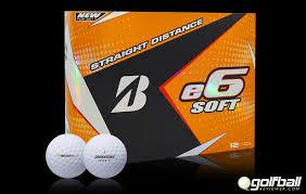 Bridgestone E6 Soft A Real Straight Shooter Golf Ball