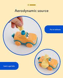Yeni Inertia güç uçan balon balon karikatür bulmaca araba oyuncak araba  bilim deney oyuncak roketatar çocuk oyuncak Satılık! < mağaza ~  Budget-Retail.cam