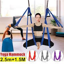 4 color 210t anti gravity yoga