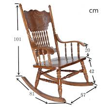 ameircan rocking chair carved oak wood living room furniture antique wooden vintage rocking relax swing arm chair styles in living room chairs from