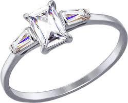 Купить <b>Кольцо</b> из белого золота SOKOLOV 81010277_s с ...
