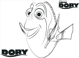 Finding Dory Coloring Pages Also Finding Coloring Pages For Prepare