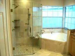 jacuzzi bathtub shower combination corner tub combo bathtubs