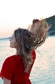 Free Fotobanka Lidský Barva Vlasů Moře Voda účes Dívka Rameno
