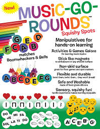 Music Education Wall Charts Music In Motion Music Go Rounds Manipulatives