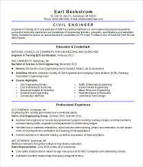 Resume Template Resume Sample For Civil Engineer Fresher Best