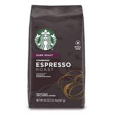 As most italian variations of the best espresso beans tend to tip their taste towards a burnt tang. Amazon Com Starbucks Espresso Dark Roast Whole Bean Coffee 20 Ounce Pack Of 1 Grocery Gourmet Food