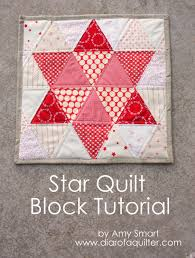 Triangle star quilt block tutorial - Diary of a Quilter - a quilt blog & So while I was at it, I decided to make a quick and simple tutorial to show  how I did it. The equilateral triangle is a fun one to play with. Adamdwight.com
