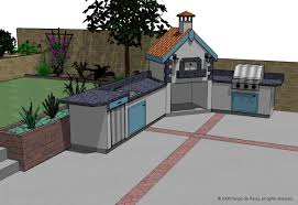 Plans For Outdoor Kitchens Outside Kitchen Designs How To Build Outdoor Kitchen Island Best