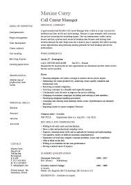 Resume Wording Examples Delectable Call Center Resumes Examples Call Center Manager Resume Examples