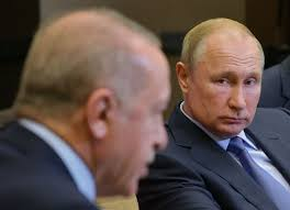 Wladimir Putin und Recep Tayyip Erdogan besiegeln Syriens Schicksal - DER  SPIEGEL