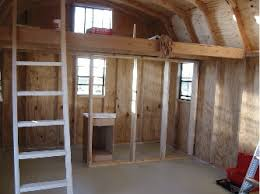 Small Picture shed interior turning a barn yard shed into his man cave barn