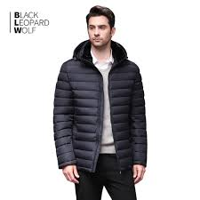 Light Grey Mens Parka Us 43 5 71 Off Blackleopardwolf 2019 New Winter Mens Jacket Coffee Light Down Jacket Male Windproof Warm Parka Autumn Winter Fashion Bl 871 In
