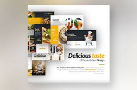 Food Presentation Template Best Powerpoint Templates Download For Culinary Business Free