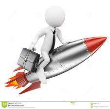d white people businessman on a rocket stock illustration 3d white people businessman on a rocket