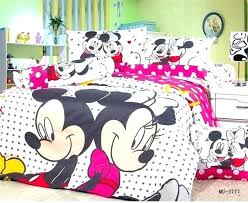 elegant mickey and bedding set bed bedroom kids furniture sets for unique minnie mouse king size ideas an