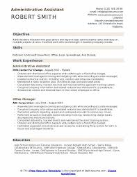 Staff, managers and clients) seeking out various office assistance. Administrative Assistant Resume Samples Qwikresume