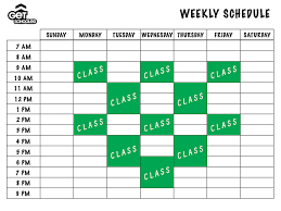 College Class Scheduler Make Schedule College Hashtag Bg